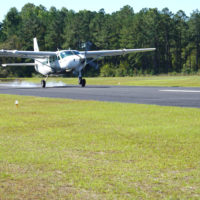 Cessna Grand Caravan Supervan 900 taking off.